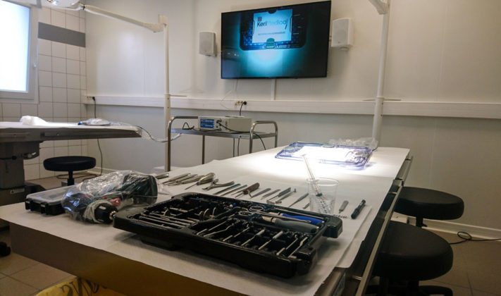 kerimedical formation workshop training ancillaire laboratoire kit instrument prothese prosthesis pouce thumb 1304