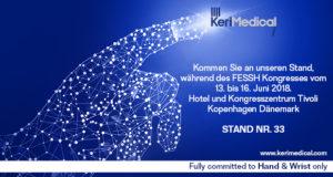 FESSH kongress 2018 kerimedical deutschland hand handchirurgie