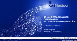 Bochum congress kerimedical Handchirurgie Orthopädie Rhizarthrose Prothese Daumensattelgelenkprothese mit Duo-Mobilität