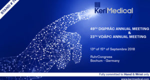 Bochum congress kerimedical hand surgery orthopedic prosthesis thumb rhizarthrosis dual mobility cmc