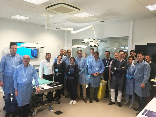 cadaverlab kerimedical orthopedie cmc prosthesis prothese pouce rizarthrose touch tmc