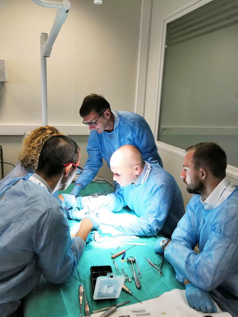 kerimedical cadaverlab training formation touch prothese trapezo-metacarpienne trapziometacarpal
