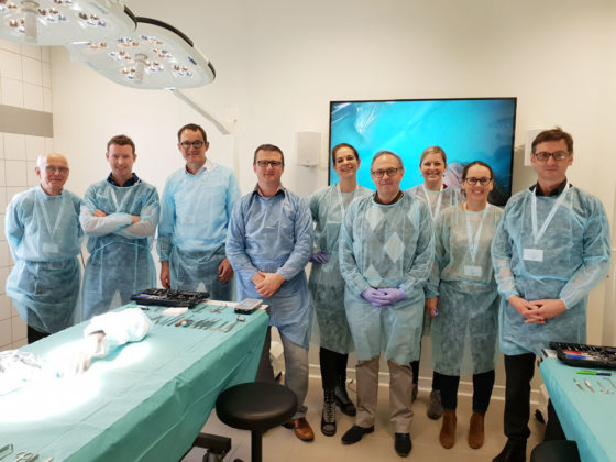 kerimedical training workshop cadaverlab touch prothese double mobilite rhizarthrose pouce chirurgien orthopedique