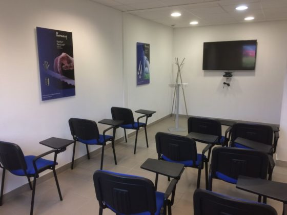Salle formation kerimedical installation archamps